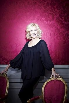 A for Agnetha: an image from the photo shoot at Confidencen, a rococo theatre in Sweden, for the former ABBA star's new album.❤•❦•:*´¨`*:•❦•❤