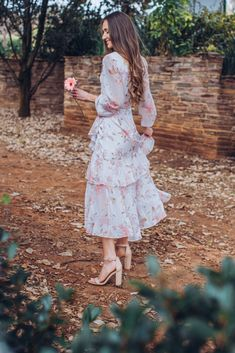 That Spring Feeling - Arum Lilea Forever New Dress, Charity Shop, My Spring, We The People, Passion For Fashion, Outfit Of The Day, What To Wear, Midi Skirt