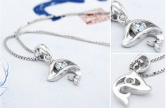 Dolphin Shape Charm Necklaces Jewelry|mmtjewelry.com