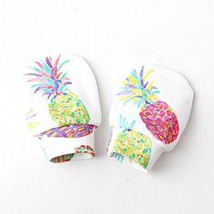 Ananas geen kras baby wanten biologische katoen baby wanten