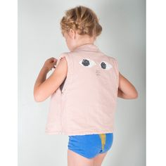 bobo choses mr. peep waistcoat – pink - view all - girl | Thumbeline