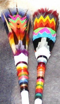 Native Art and Design: Native American Church Art Fans