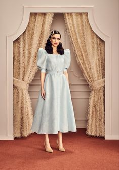 Casual Dresses, Fashion Dresses, Girls Dresses, Flower Girl Dresses, Summer Dresses, Classy Dress, Classy Outfits, Velvet Dress Designs, Moroccan Dress