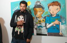 Hebru Brantley On Chicago's Art Scene, His Jay-Z Sale And What He'd Ask His Airness