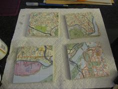 This is what I'm going to do with the park maps I picked up at Walt Disney World last weekend! Fun!