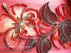 Quilling flower made by Larissa Ambush