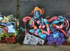 Graffiti en Charleroi