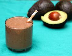 Chocolate Avocado Milkshake