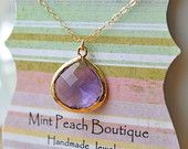 Handmade Jewelry by Mint Peach Boutique on Etsy