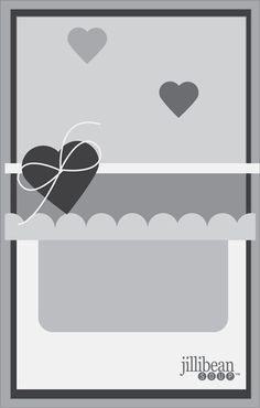 Card Sketch #2 for designer challenge via Jillibean Soup Blog