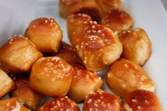Soft pretzel Bites Recipe!