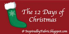 Inspired by Fabric: 12 Days of Christmas: Day 9