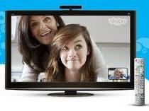 Skype on TV - Now that is what a hipster would do.