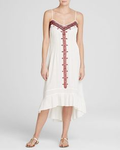 Twelfth Street by Cynthia Vincent Dress - Embroidered Western