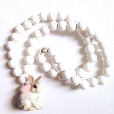 Pirates & Ponies Bunny Necklace