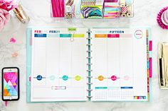 I couldn't be more excited that the IHeart Organizing 2015 Daily Planner Printables are now available in my Etsy shop !      Thi...