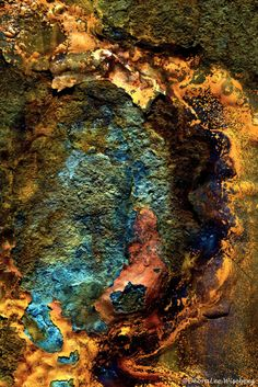 picturepoetess This texture is incredible. It is this idea of colour texture and tactile texture with vivid colours that I want to explore. Fractal, Fotografia Macro, Peeling Paint, Action Painting, Rusty Metal, Beautiful Textures, Abstract Photography, Textures Patterns, Color Inspiration