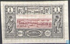 Stamps - Coast of the Somalis (French Protectorate) - Djibouti