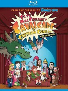 Seth MacFarlanes Cavalcade of Cartoon Comedy (Blu-ray Disc, 2009) 24543592730   eBay