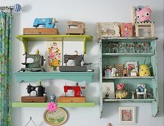 My toy vintage sewing machine collection.