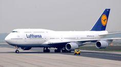 Lufthansa 747.