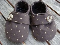 button up baby shoes