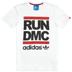 """Adidas Original x Run DMC Logo Tee White 2013"" https://sumally.com/p/1003475?object_id=ref%3AkwHOAAFNWoGhcM4AD0_T%3AEpB_"