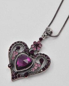 Amazon.com: Heart Pendant Necklace: Jewelry