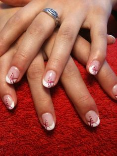 Here's what you can do or advise to ensure your clients have perfect nails. 'Nail discoloration can have… Continue Reading → French Nails, Ongles Gel French, French Pedicure, Pedicure Tips, Gel Nail Art, Acrylic Nails, Nail Polish, Hair And Nails, My Nails