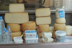 Cheese from a market in Heraklion
