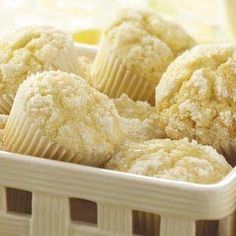 Lemon Crumb Muffins from Taste of Home -- shared by Claudette Brownlee of Kingfisher, Oklahoma.