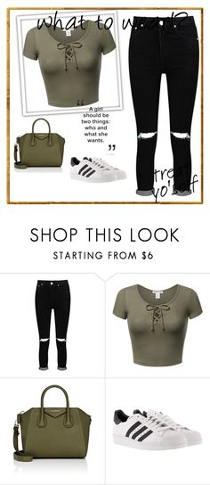 """""""Untitled #163"""" by doggyrules on Polyvore featuring Boohoo, Givenchy and adidas"""