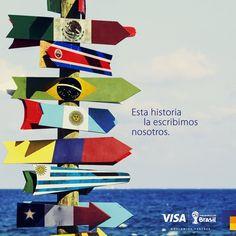#Pinterest En la Copa Mundial de la FIFA Brasil 2014 los latinoamericanos hacemos historia.