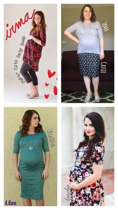 Simply comfortable LuLaRoe clothes double as maternity wear – click the link in…
