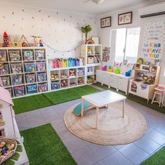 Office playroom - Organization and beautiful materials promotes deep, meaningful play