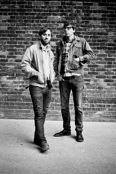 Musical geniuses... The Black Keys!
