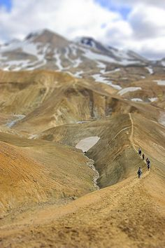 Hiking - Kerlingarfjoll, Iceland;  photo by fredrikholm.se, via Flickr