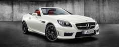 The Mercedes-Benz SLK 55 AMG