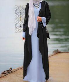 fashionable abaya abayas and jilbabs islamic clothing women fashion clothes usa fashion for women hooded abaya holiday dresses Modest Maxi Dress, Modest Wear, Modest Outfits, Hijab Dress, Maxi Dresses, Wedding Dresses, Cape Dress, Modest Clothing, Long Dresses