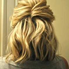 20 Cute Easy Hairstyles for Short Hair | The Best Short Hairstyles for Women 2015