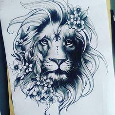 lion tattoo designs for women © tattoo studio Indigenous Ink ? Mama Tattoos, Leo Tattoos, Couple Tattoos, Body Art Tattoos, Sleeve Tattoos, Tatoos, Horse Tattoos, Celtic Tattoos, Animal Tattoos