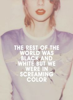 "Taylor Swift - ""Out of the Woods"" (1989) Lyrics! An inspiration to song writing albeit the poppness ha!"
