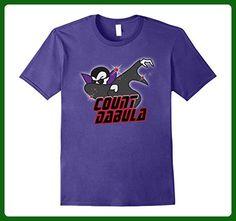 Mens Funny Halloween Vampire T-Shirt, Count Dabula 3XL Purple - Fantasy sci fi shirts (*Amazon Partner-Link)