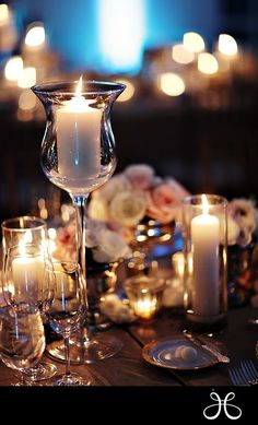 Table scape candles - Jan's Page of Awesomeness! >.