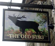 The Old Stag in Liskeard, Cornwall - Pub Sign