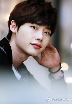 "Lee Jong Suk....yea he's pretty adorable. I didn't think I'd like him at first but he definitely grew on me. Currently watching ""I Hear Your Voice"""