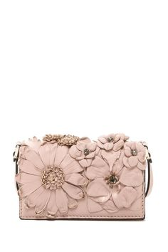 Valentino Flower Mini Wallet with Strap on HauteLook