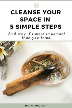 Wondering How To Smudge? Learn how, why, and when you should smudge. Plus, get access to our smudging tutorial with step-by-step instructions on How To Smudge Smudging Prayer, Sage Smudging, Spiritual Cleansing, Energy Cleansing, Spiritual Wellness, Burning Sage, Removing Negative Energy, Smudge Sticks, Alternative Energy