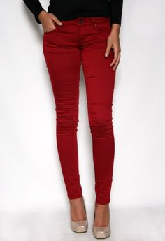 colored skinnies #PGWishList #PrivateGallery