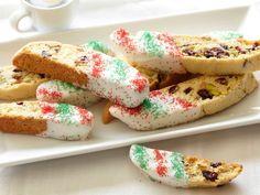 Holiday Biscotti recipe from Giada De Laurentiis via Food Network